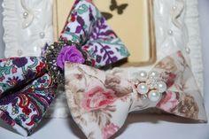 Floral bowties 10 € each Bowties, Band, Retro, Floral, Accessories, Fashion, Tie Bow, Moda, Sash