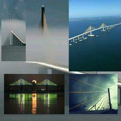 Sunshine Skyway Bridge  We live here!