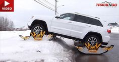 These Tracks Transform Your SUV Into An Unstoppable Machine #Jeep #Jeep_Grand_Cherokee