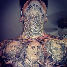 Cholo tattoos.