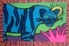 Fantastic Fauve Art Lesson Art Lessons For Kids, Art Lessons Elementary, Art For Kids, Teaching Art, Teaching Ideas, Animal Art Projects, 5th Grade Art, Arts Ed, Art Festival