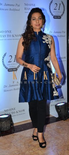 Must have Bollywood Style! Find a style match to the celebrity look of your choice @http://www.kalkifashion.com/kurtis.html