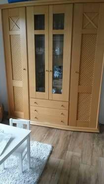 Sideboard & vitrine , schrank, kommode , massiv, buche? in Niedersachsen - Stade | Wohnwand gebraucht kaufen | eBay Kleinanzeigen