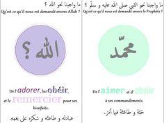 Voici les cartes tawhid! Ici la première partie dont je ne connais pas l'auteur(e) : [ momentanément supprimées pour modifications ] Et ici, la deuxième partie que je viens de faire )) :