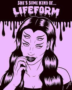 Ghostpastry (ghostpastry) on ImgBB Cosmic Art, Vintage Pop Art, Satanic Art, Horror Artwork, Arte Obscura, Horror Posters, Arte Horror, Vintage Horror, Aesthetic Drawing