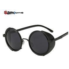 6545d4f0c9 2016 new IRON MAN 3 TONY STARK Sunglasses steampunk Men Mirrored steam punk  Glasses Vintage Sun glasses oculos de sol masculino