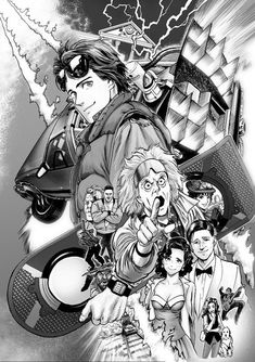 Back to the Future Film To Receive A Manga By One-Punch Man Artist.