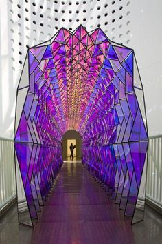 "StudioOlafurEliasson Twitterissä: ""Cultivate a double perspective - One-way colour tunnel, 2007. @SFMOMA http://t.co/Ampg7km8OX"""