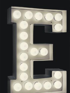Letter table light, Table lamps, Contemporary table and floor lamps, Contemporary lighting, Holloways of Ludlow