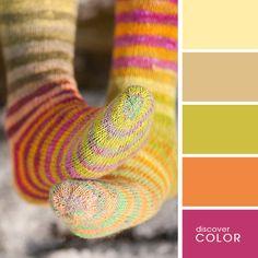 Теплые носочки | DiscoverColor.ru