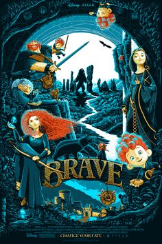 Brave Poster - Created by Patrick Connan