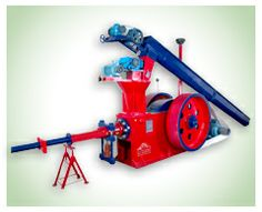 Jumbo 90 briquetting machine is able to grind any type of agriculture waste or industrial waste and convert them into briquettes. This machine has high production capacity and less maintain cost.