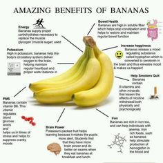 Benefits of a bananas - been trying to eat 1 each morning even though i'm not too fond of them!
