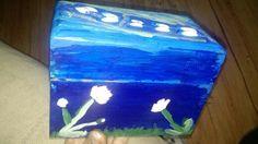Butterfly flower box