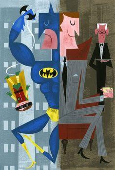 Batman/Bruce Wayne by Amanda Visell