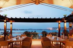 romantic dinner with a view at Bussola in Dubai