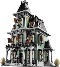 LEGO's first official haunted house looks awesome!