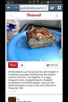 Slimming World Breakfast Loaf