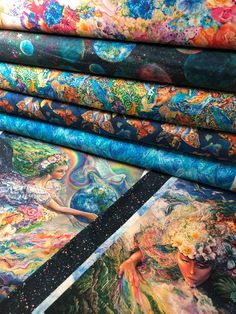 40 JELLY ROLL STRIPS 100/% COTTON PATCHWORK FABRIC ~ ELECTRIC JUNGLE