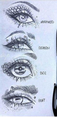 Dark Art Drawings, Pencil Art Drawings, Cool Drawings, Vampire Drawings, Arte Sketchbook, Art Inspiration Drawing, Art Drawings Sketches Simple, Eye Art, Cartoon Art
