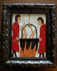 Roman Catholich church boiling Christian Cathars alive