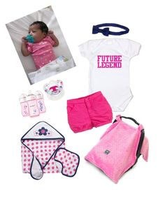 """Newborn Baby Girl 🎀👶🏽"" by jaylinehilson on Polyvore featuring Gymboree, Gerber, Ralph Lauren and Philips"