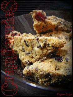 Petits Biscuits Sablés et Moelleux aux Cranberries, Raisins Secs et Pépites de Chocolat Noir