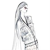 Illustrations by commercial beauty, fashion and clothing illustrator Lucia Emanuela Curzi represented by leading international agency Illustration Ltd. To view Lucia's portfolio please visit http://www.illustrationweb.com/artists/LuciaEmanuelaCurzi/view