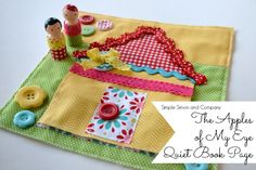 Peg Doll quiet Book Page