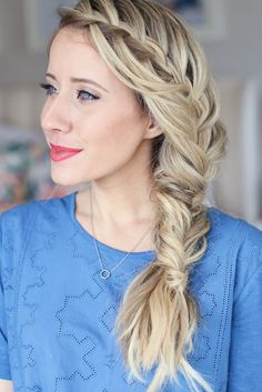 Cascading Waterfall Combo | Cute Girls Hairstyles
