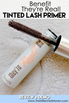 Find out if Benefit They're Real Lash Primer is a beneficial addition to your beauty routine, or just a major gimmick. Full review + demo included. Click through to read the full article.