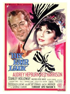 My Fair Lady, if this film had no redeeming qualities other than the beautiful costumes, it would make my list on that alone, so it's just a bonus that the music, acting, and scenery are brilliant.