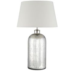 Kiri - Mercury Glass Table Lamp Base Only pacific-lifestyle.co.uk