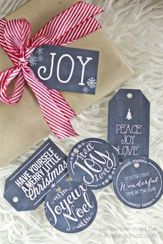 Crazy for Christmas Printable Pack - Yellow Bliss Road