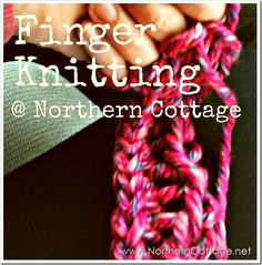 northern cottage finger knitting