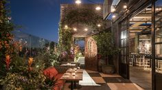 Catch Is the Coolest Damn Rooftop in West Hollywood New York City's newest dining import