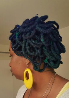 The side #Multicolorlocs #sisterlocs