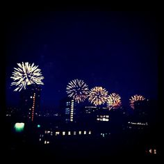 4th of July on the Hudson...out my window!