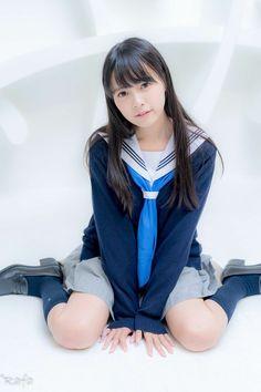 Shogo Hamai @ Private Photobook Championship Exhibition 9 / am - Hot Girls Cute School Uniforms, School Uniform Fashion, Japanese School Uniform, School Girl Outfit, School Uniform Girls, Girls Uniforms, Japanese High School, School Girl Japan, Japan Girl