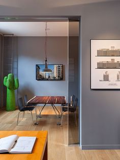 Stunning Garage Conversions   AA Studio's Brooklyn, New York office. #design #interiordesign #interiordesignmagazine #architecture #office #decor
