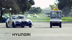 Genesis Coupe Drift Car Heist from Hyundai Headquarters featuring Rhys M...