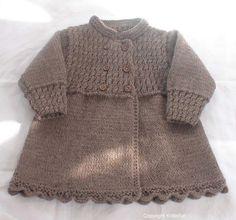 Isabelle coat by knitisfun   Knitting Pattern -$5.00- Isabelle coat by designer knitisfun. - via @Craftsy