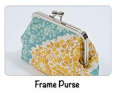 Free Frame Purse Tutorial