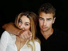 Shailene Woodley & Theo James #Divergent