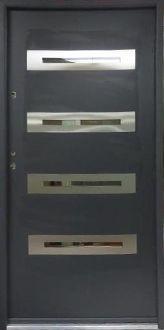 Modern exterior door,contemporary front entry doors ,residential doors,front doors,entry doors,entrance doors,exterior door with sidelight,metal exterior doors,steel front entry doors,wood front doors,nowoczesne drzwi zewnetrzne,drzwi wejsciowe