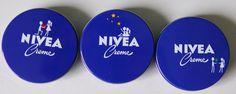 Nivea Dosen Valentinstag designed von justblue.de; Deutschland 2012, auch in Frankreich und Österreich erschienen; In USA oder Kanada als Minidose in vier verschiedenen Motiven