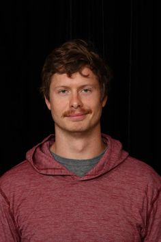 Anders Holm, looking sexy with a mustache.