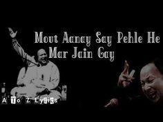 Dil To Kya Cheez Hai Jaan Sey Jayenge || Nusrat Fateh Ali Khan Best Whatsapp Song - YouTube Rahat Fateh Ali Khan, Nusrat Fateh Ali Khan, Sufi Songs, Song Status, Urdu Poetry, Lyrics, Sayings, Youtube, Song Lyrics