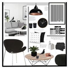 """Untitled #2266"" by liliblue ❤ liked on Polyvore featuring interior, interiors, interior design, home, home decor, interior decorating, Twig+Nest, Eleanor Stuart, Dot & Bo and Vitra"