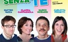 Si ride con la commedia NON c'è DUE SENZA... TE a Milano #milano #teatro #nonc'èduesenzate